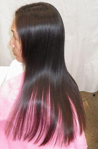 大分高難易度縮毛矯正攻略技術エンパニ®簡単艶出し美髪矯正アフター