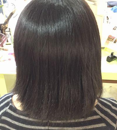 愛媛(愛媛美髪矯正) 高難易度美髪縮毛矯正攻略エンパニ®簡単艶出し美髪矯正ビフォー