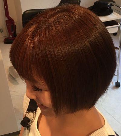 香川|高難易度美髪矯正攻略技術エンパニ®簡単艶出し美髪矯正アフター