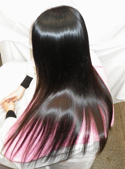 高難易度縮毛矯正髪質改善シルクレッチ®≪簡単艶出し法≫アフター