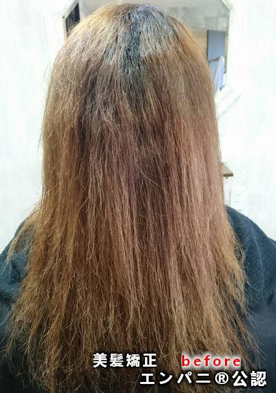 美髪矯正 - 名古屋でトリートメント不要の実力を持つ美髪化技術