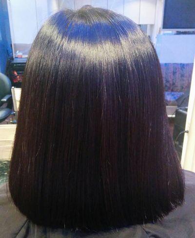 石川県金沢高難易度縮毛矯正攻略基本技術美髪矯正シルクレッチ®アフター