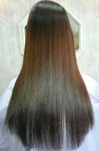 富山高難易度縮毛矯正攻略基礎特訓美髪矯正シルクレッチ®アフター