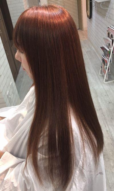 金山 美髪矯正はトリートメント不要で行う実力の縮毛矯正