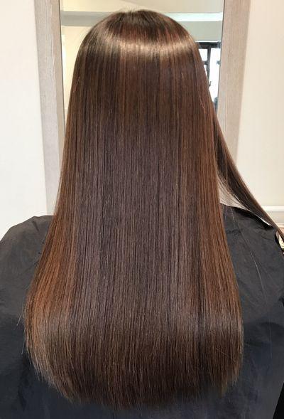 山梨高難易度縮毛矯正基本攻略美髪矯正シルクレッチ®アフター